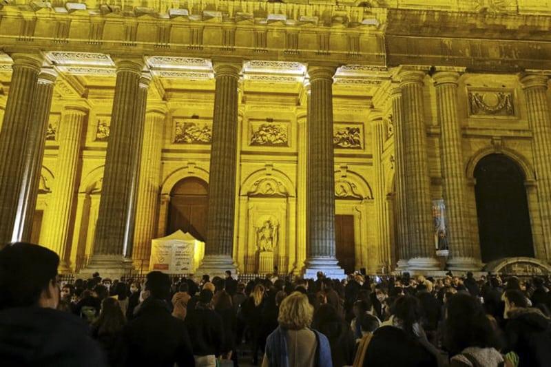 Raduno di Parigi venerdì 13 novembre @MagLincorrect / Twitter