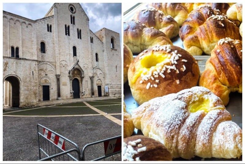 Basilica-di-San-Nicola-a-Bari-e-le-brioches