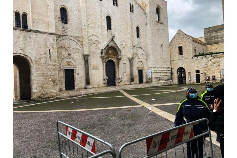 Basilica di San Nicola a Bari il 06 12 2020 festa di San Nicola