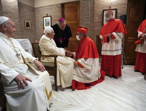 Benedetto XVI non ha perso la voce, dice l'arcivescovo Gänswein