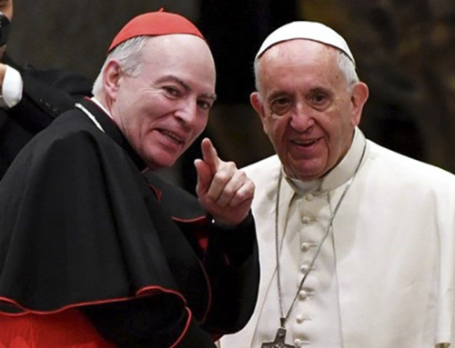 """Il card. Aguiar ha detto che """"Sono completamente d'accordo"""" con il Papa sulle unioni civili."""