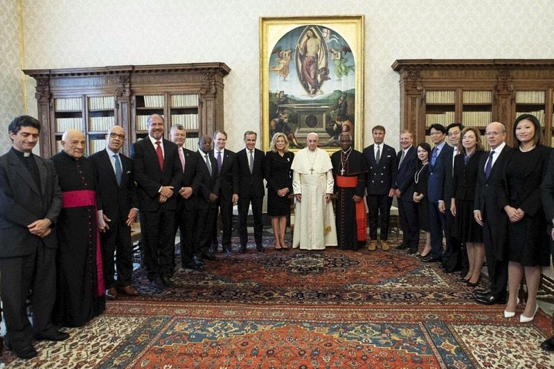 Consiglio per il Capitalismo Inclusivo (Foto: Vatican media)
