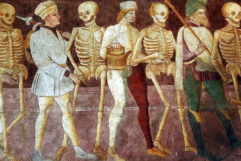 Giacomo-Borlone-de-Buschis-Danza-Macabra-1484-1485-Oratorio-dei-Disciplini-Clusone
