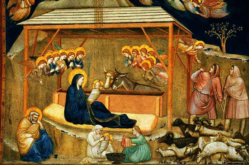 Giotto, Natività, Basilica inferiore di San Francesco, Assisi
