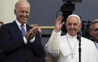 Joe Biden e Papa Francesco