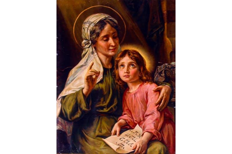 Maria bambina-tra-i-genitori-Anna-e-Giacchino