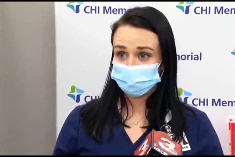 Tiffany Dover infermiera del CHI
