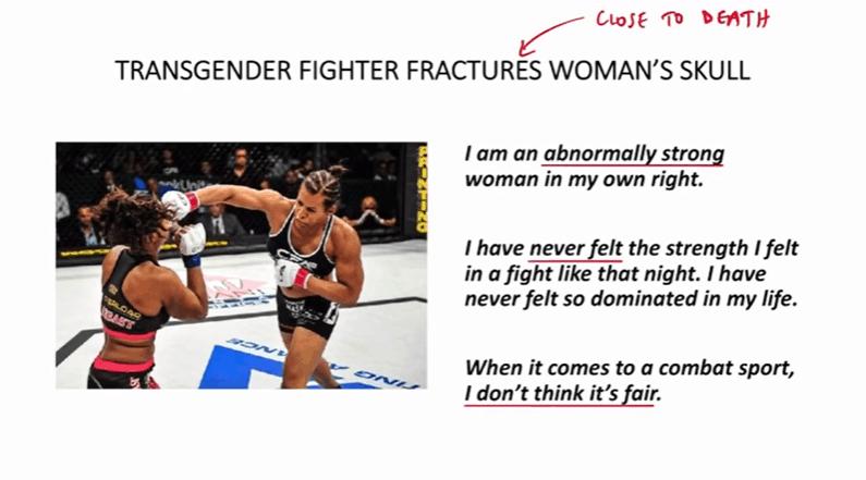 Transgender (uomo che si sente donna) combatte con una donna fracassandole la mascella