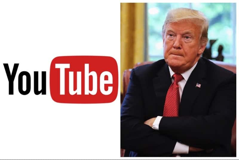 Youtube e Donald Trump