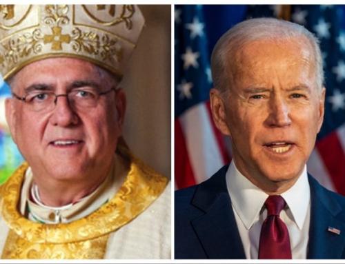 """Vescovi USA a Biden: """"È profondamente inquietante e tragico che un presidente possa lodare"""" l'aborto e impegnarsi nella sua legalizzazione."""