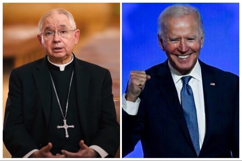 Arcivescovo-Gomez-e-Joe-Biden-presidente-USA