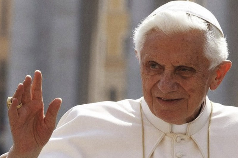 Benedetto XVI (Credit: CNS)
