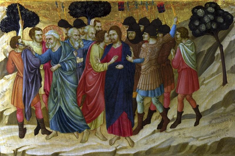Gesù, il bacio di Giuda