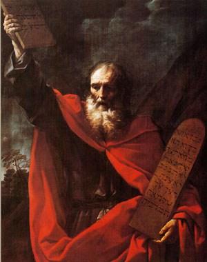 G. Reni, Mosè con le Tavole della