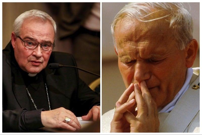 Mons. Luigi Negri e San Giovanni Paolo II
