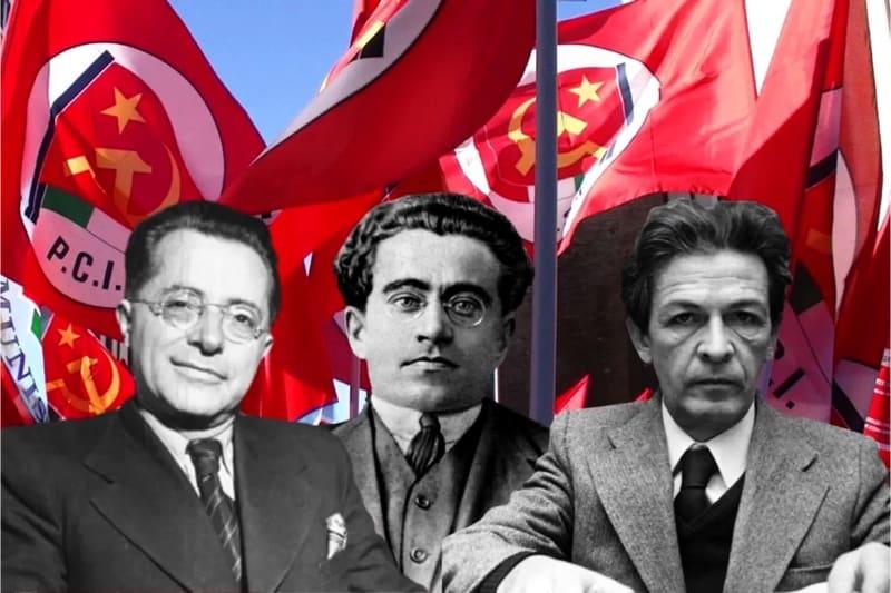 Palmiro Togliatti, Antonio Gramsci, Enrico Berlinguer e il Partico Comunista Italiano