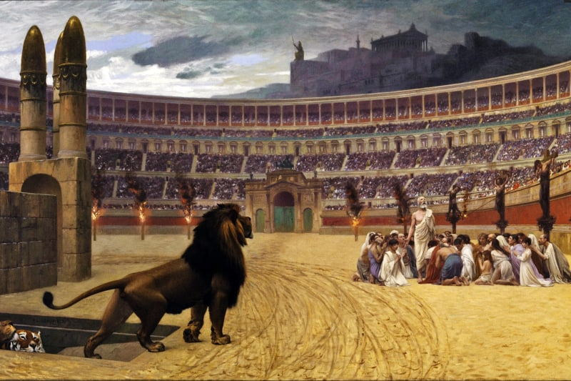 Persecuzione-Cristiani-Antica-Roma-Pagana-Jean-Léon-Gérome