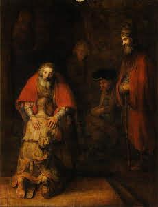 Rembrant, Ritorno del figlio prodigo
