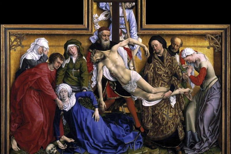 Weyden, Depositione Discesa di Cristo dalla croce
