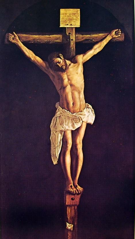 F. Zurbaran, Cristo crocifisso