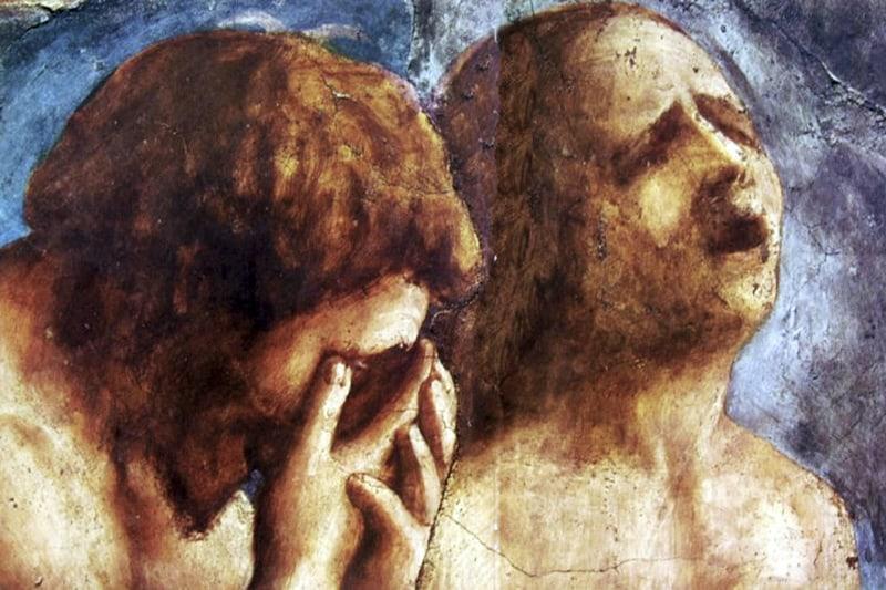 Cacciata di Adamo ed Eva - Masaccio