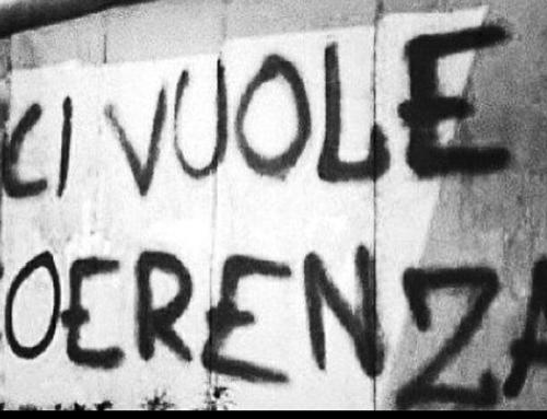 """L'INCOERENZA E' LA VIRTU' DEI DEBOLI – Elogio di un """"difetto"""" e della sua speranza nascosta"""