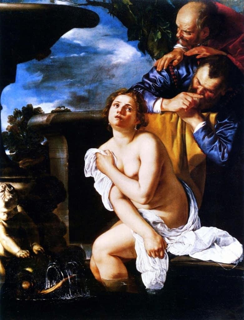 A. Gentileschi, Susanna e i vecchioni
