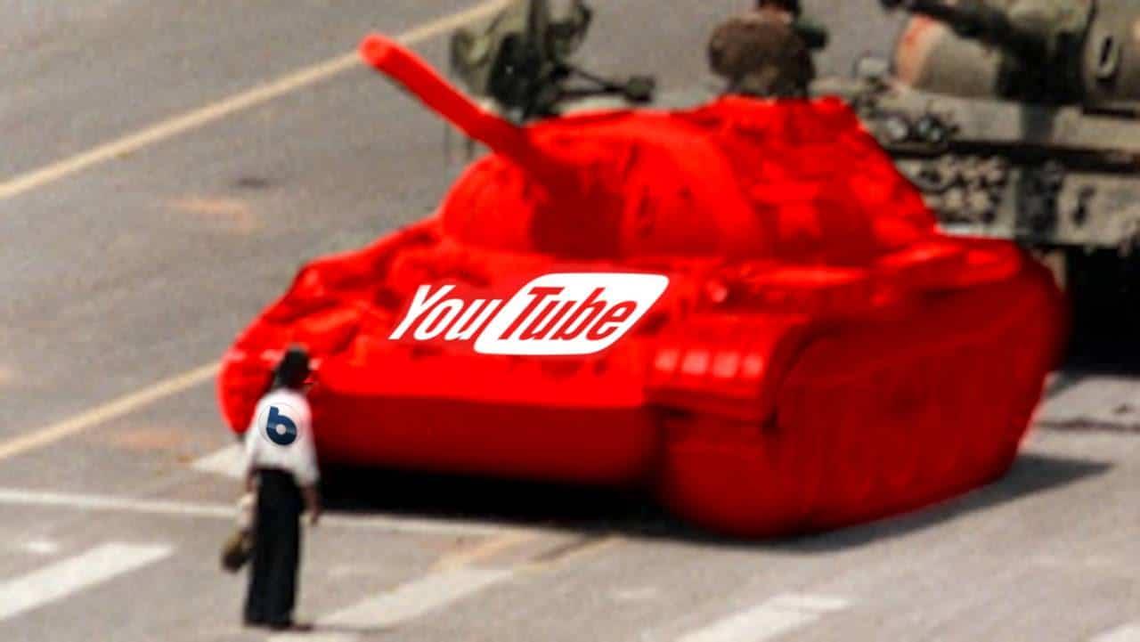 YouTube toglie pubblicità al canale Byoblu
