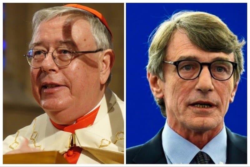 Jean-Claude-Cardinale-Hollerich-sj-e-David-Sassoli