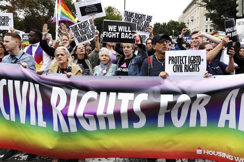 LGBTQ attivisti (foto, credit: Reuters)