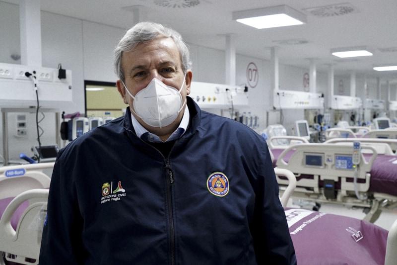 Michele Emiliano e l'ospedale in Fiera del Levante