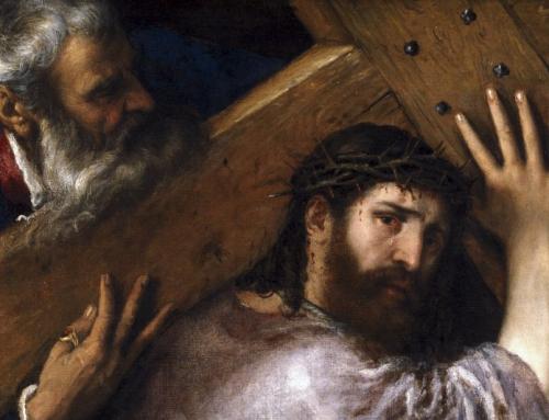 Simone il Cireneo, colui che per un tratto fu coinvolto nella fatica e nella sofferenza della Croce.