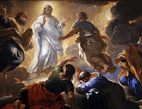 """La """"fede"""" apre gli occhi della """"ragione"""" sulla realtà della Trasfigurazione dell'uomo che Dio opera in Cristo"""