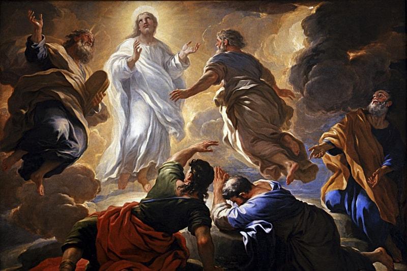 Trasfigurazione di Cristo - Luca Giordano