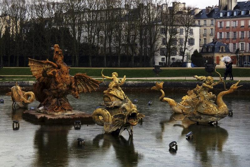 Versailles bacino del dragone