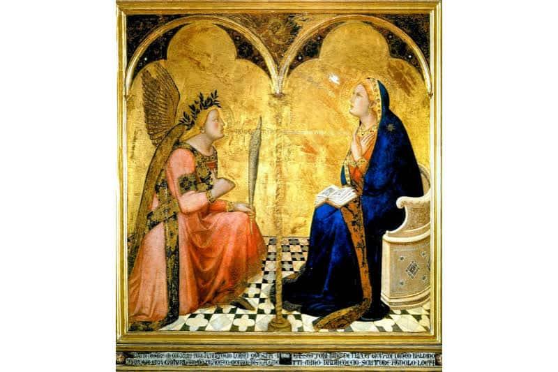 Annunciazione, Ambrogio Lorenzetti