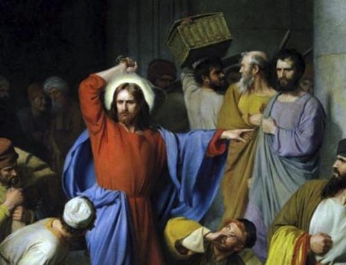 «Portate via di qui queste cose e non fate della casa del Padre mio un mercato!»