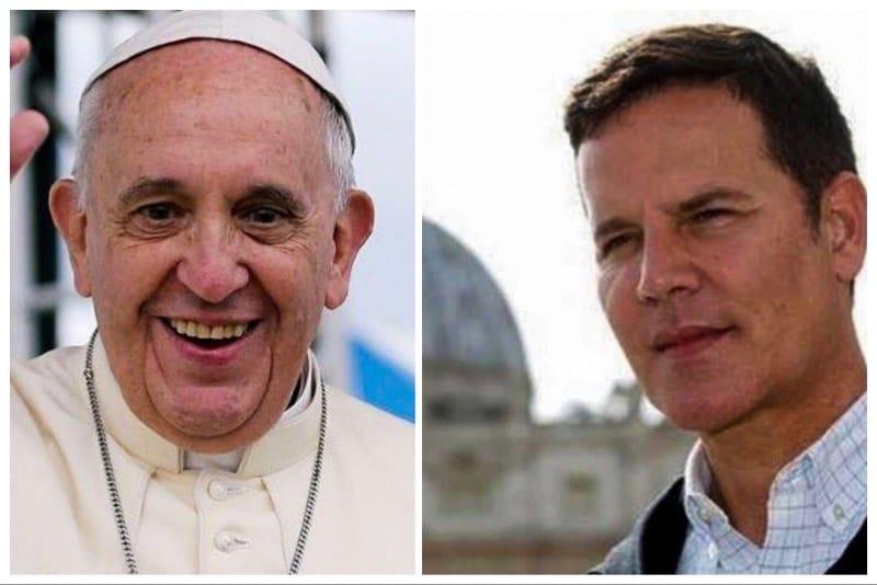 Papa Francesco e Juan Carlos Cruz