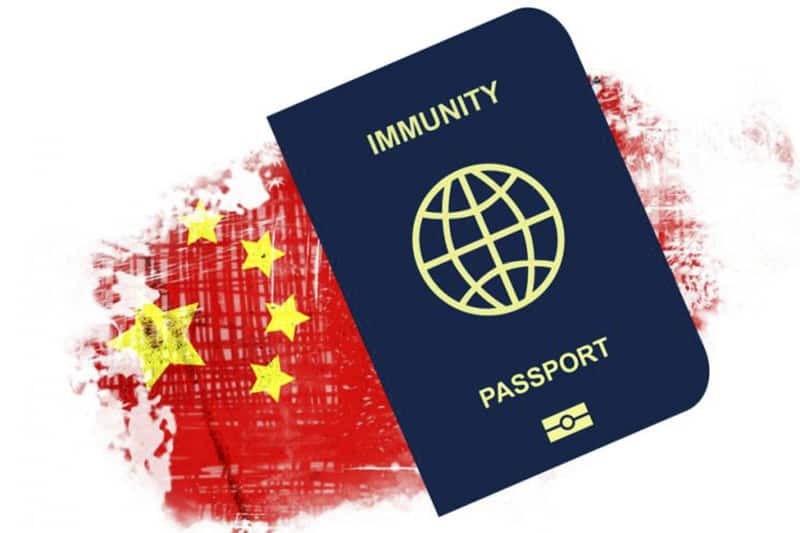 passaporto sanitario immunità cinese
