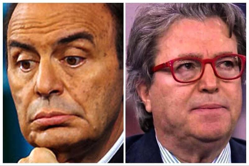 Bruno Vespa e Mariano Amici