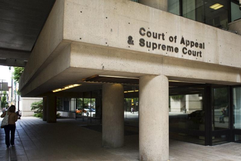 Corte Suprema della BC a Vancouver. FOTO DI ARLEN REDEKOP / POSTMEDIA / FILE