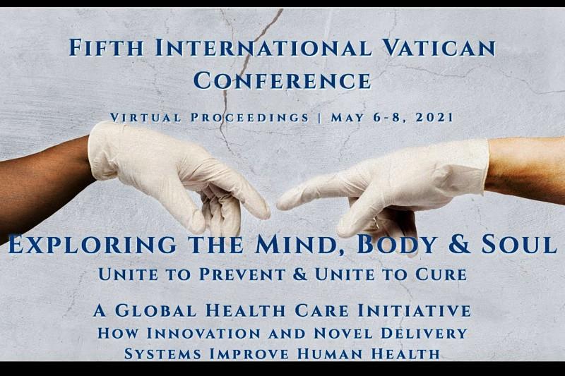 Exploring the Mind-Body Soul. Locandina della conferenza vaticana sulla salute