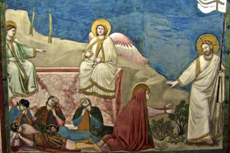 Giotto, Resurrezione, Cappella degli Scrovegni, Padova