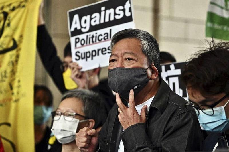 Lee Cheuk-yan attivista per la libertà a Hong Kong. (Foto AFP via Ucanews)