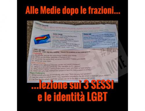 Cos'è l'indottrinamento LGBT nelle scuole? Ecco un esempio.