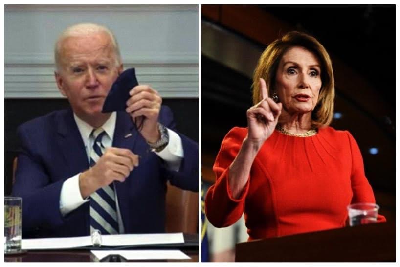 Joe Biden - Nancy Pelosi