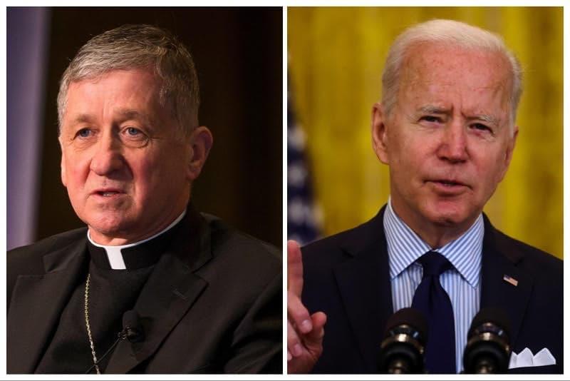 Card. Cupich e Joe Biden
