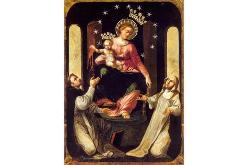Vergine del Santo Rosario - Madonna di Pompei