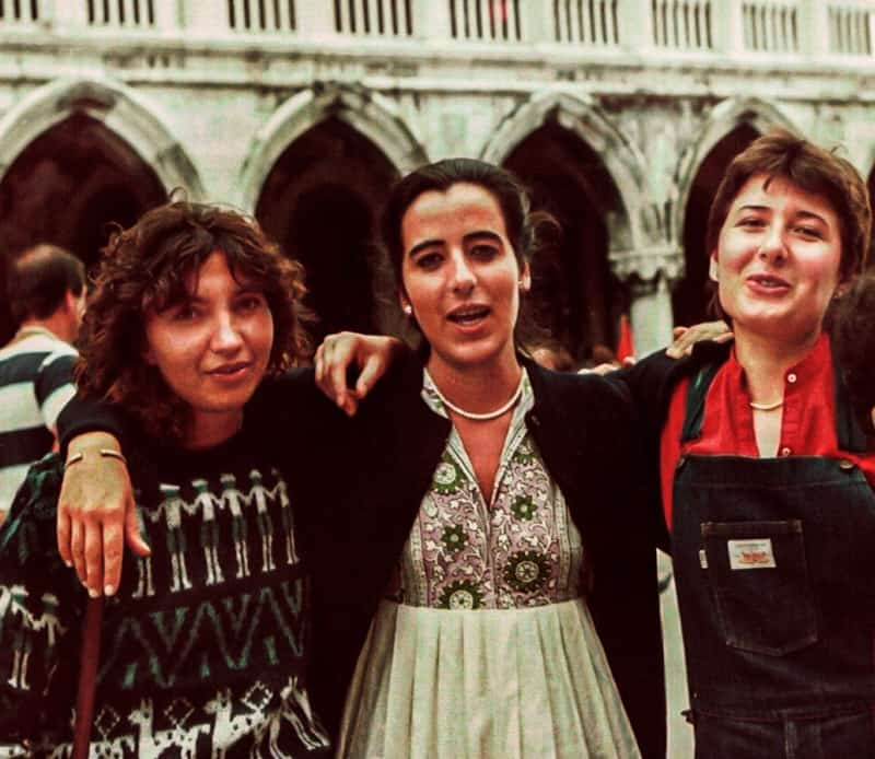 Maria Grazia Bighin (al centro)