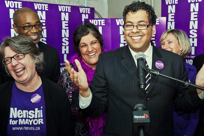 Naheed Nenshi, sindaco di Calgary
